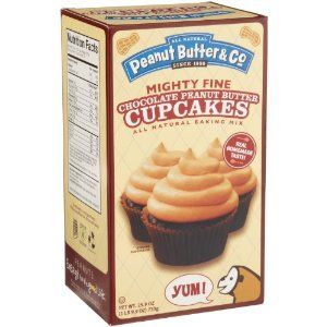 Peanut Butter & Co Chocolate Peanut Butter Cupcake Mix, 25.9-Ounce Packages (Pack of 5) (Grocery)