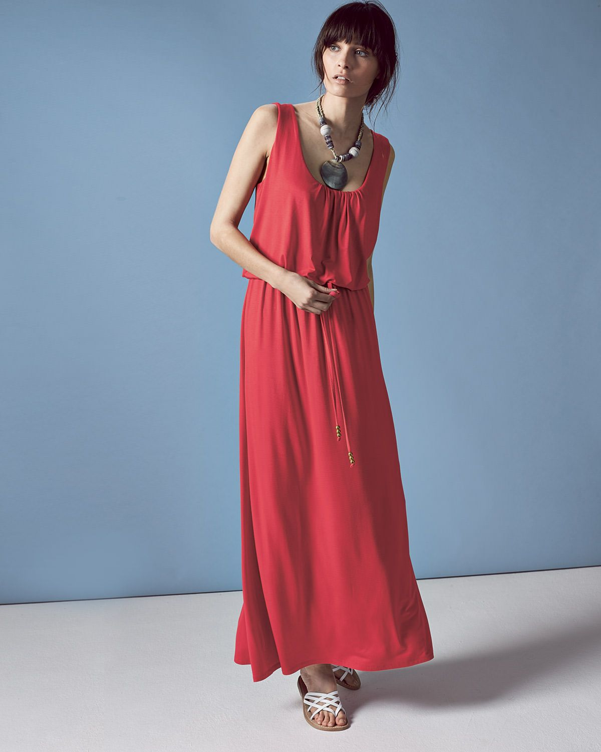 Phase Eight Bella Blouson Maxi Dress Red | Jenny\'s Wedding ...