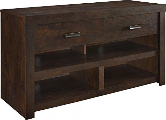 TV Stands For Flat Screens Rustic Credenza Stand With Storage Drawers Shelves #AltraFurniture #Rustic