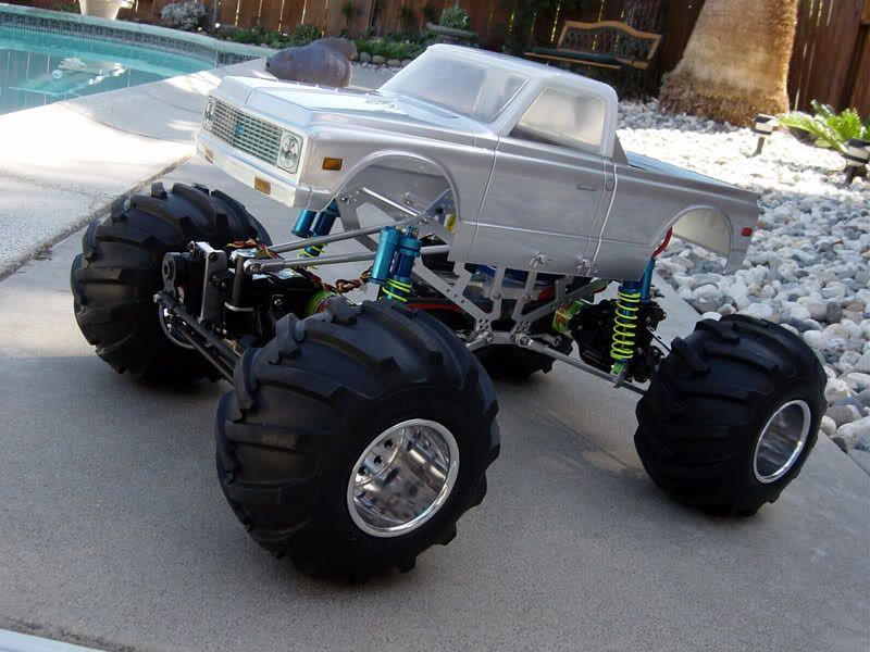 Rcxceleration Rccars Cool Truck Monster Vintage Chevy Rc Monster Truck Monster Trucks Rc Cars And Trucks