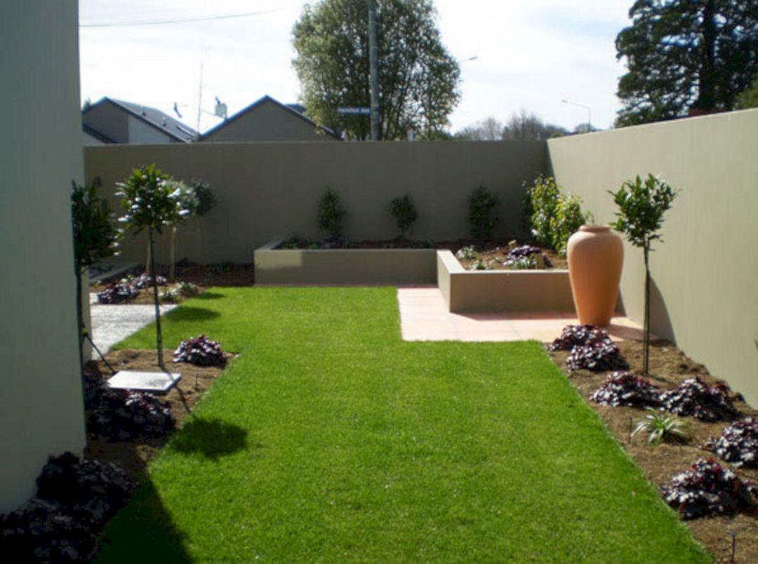 23 Modern Garden Landscaping Ideas For Amazing Garden Inspiration Freshouz Com Simple Landscape Design Contemporary Landscape Design Modern Landscaping