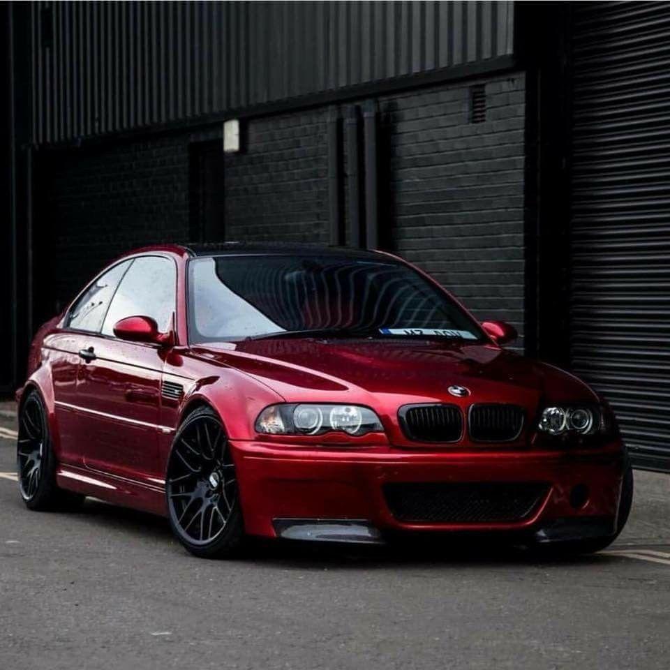 Bmw E46 M3 Red With Images Bmw Bmw 325 Bmw E46 Sedan