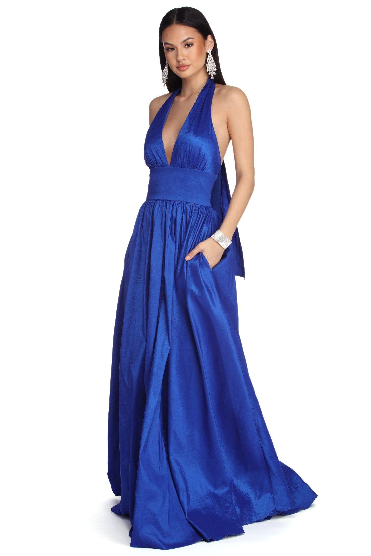Royal blue prom dresses windsor