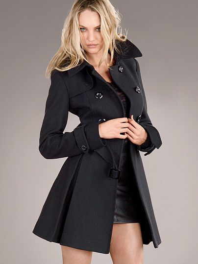 The Wool Trench Coat WAS $178.00 NOW $123.99 by Victoria\'s Secret ...