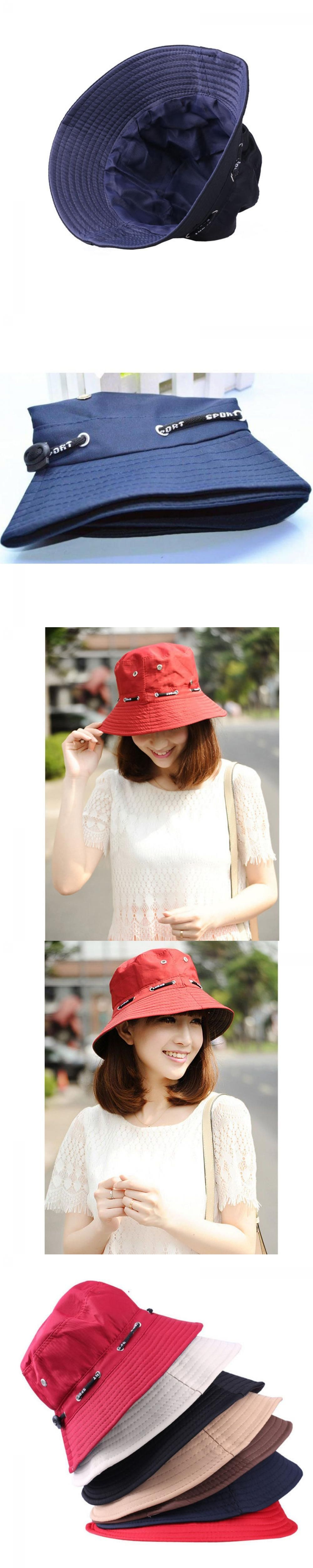 9e368e47e25 1PC Unisex Women Men Bucket Hat Boonie Hunting Fishing Outdoor Cap Men s  Summer Autumn Sun Hats