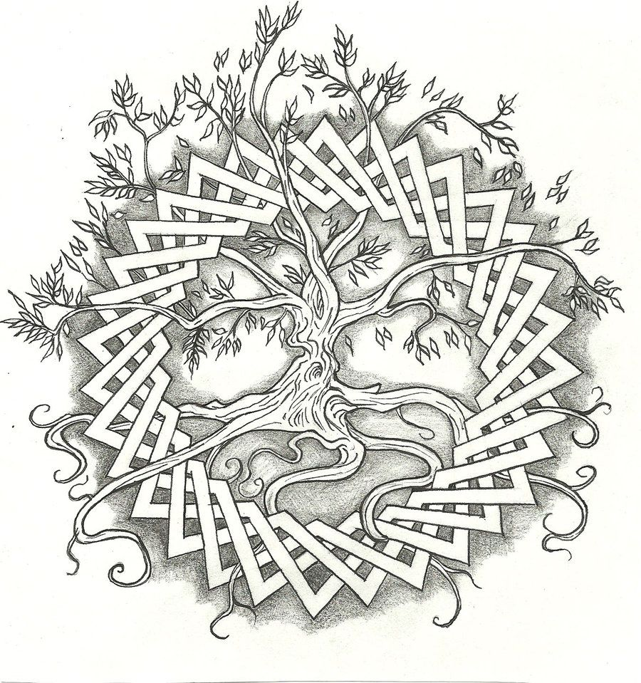 tree of life tattoo celtic tree of life by vizualassassin on