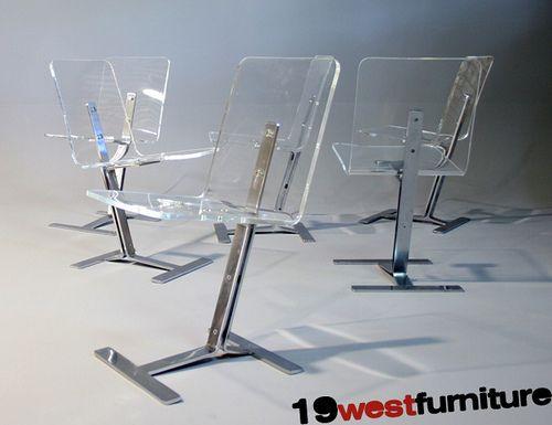 Vintage Perspex Chairs