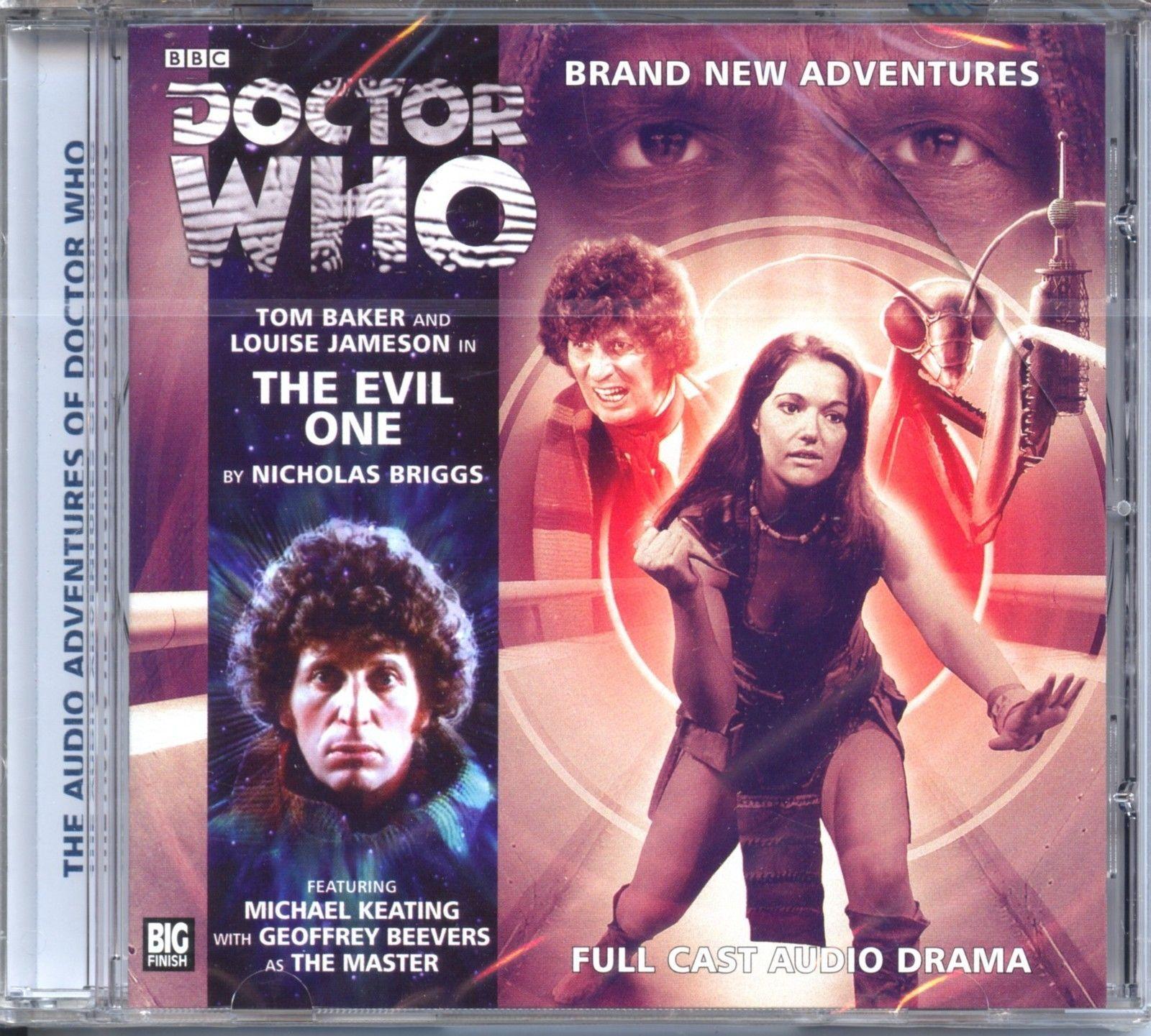 Dr Doctor Who The Evil One Audio CD Mint Tom Baker Leela