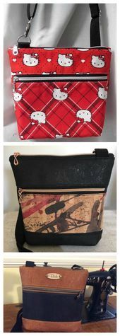 Photo of Koda Cross Body Bag – KOSTENLOSES Muster & fünf KOSTENLOSE Video-Tutorials – Nähen Sie moderne Taschen …