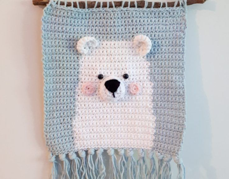 Nursery wall art crochet pattern | Игрушки | Pinterest | Ganchillo y ...