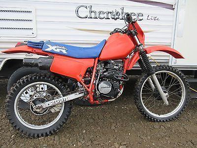 Honda xr honda dirt biking and motocross ebay honda xr honda xr200 re 1984 rfvc 4 valve classic dirt bike motocross publicscrutiny Choice Image