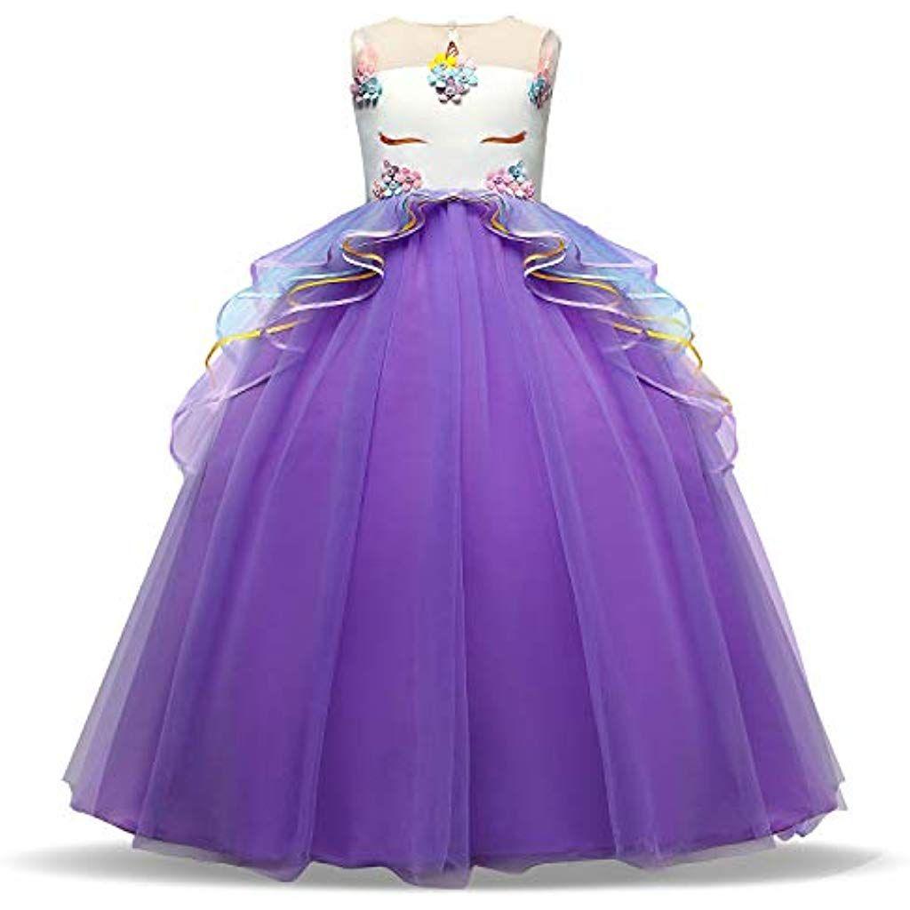 ttyaovo mädchen festzug prinzessin blume kleid kinder prom