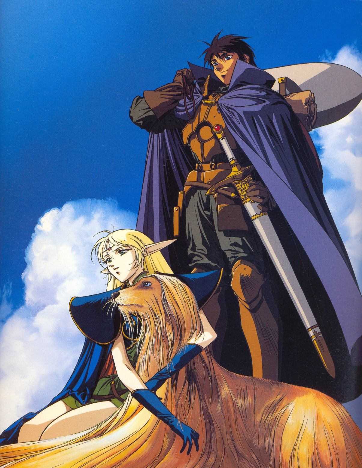 Parn And Deedlit Record Of Lodoss War Record Of Lodoss War