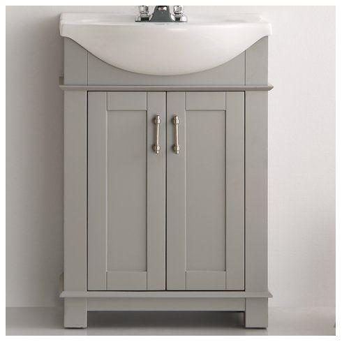 Cambria 24 Single Bathroom Vanity In 2021 Bathroom Vanity Bathroom Vanity Makeover 24 Inch Bathroom Vanity