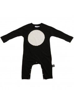 Details about  /Nununu Hooded Kimono Playsuit Black 18//24 Month Baby