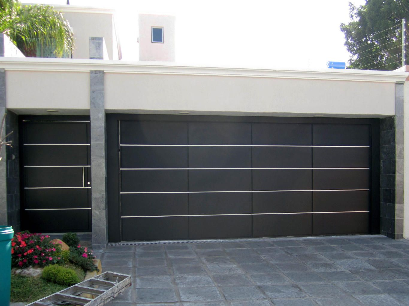 Decorating garage man door images : Modern Garage Door and Gates http://www.pinterest.com/avivbeber3 ...