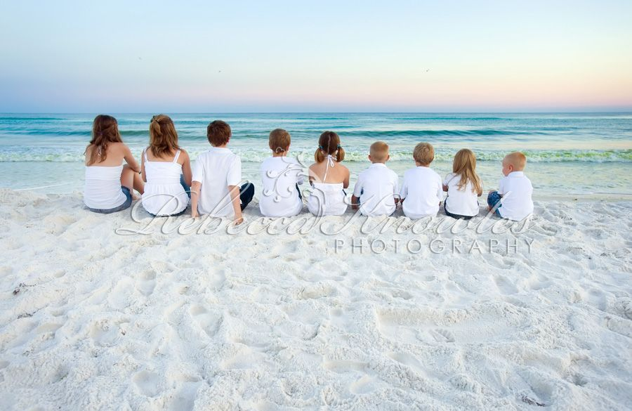 Panama City Destin Group Family Photographer Beach Family Photos