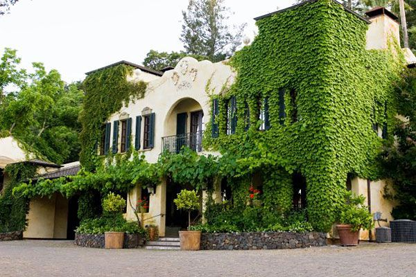Kenwood Inn and Spa..we spent 5 heavenly days here for our 40th anniversary.