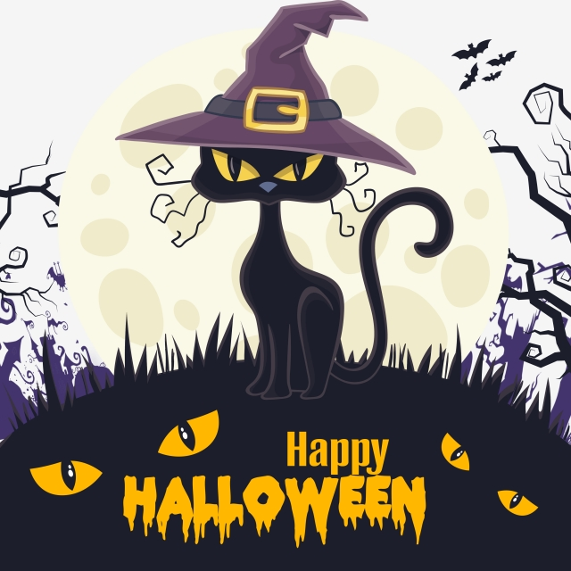 Happy Halloween Material Background Halloween Posters Halloween Posters Png And Vector With Transparent Background For Free Download Halloween Poster Halloween Vector Halloween Banner