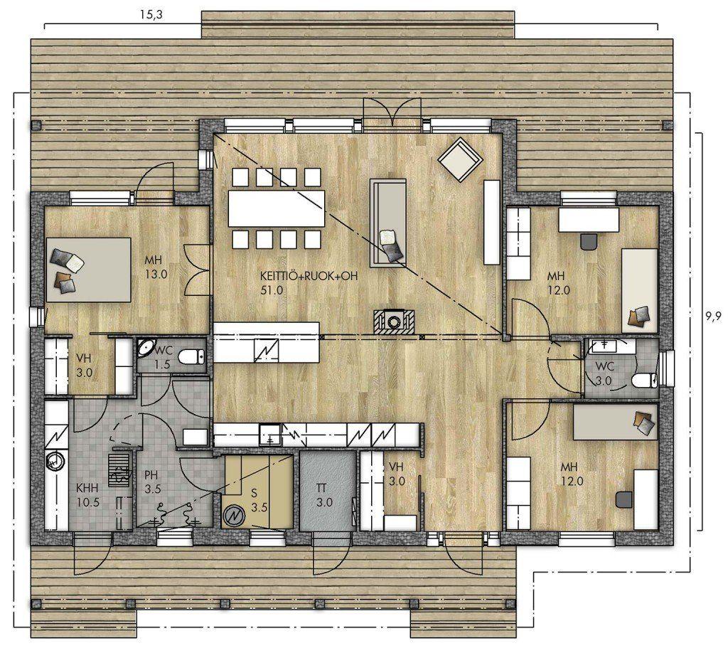 Harmaja 135 C Kannustalo Dream House Pinterest