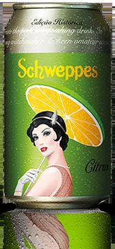 Schweppes® retrô can mxm