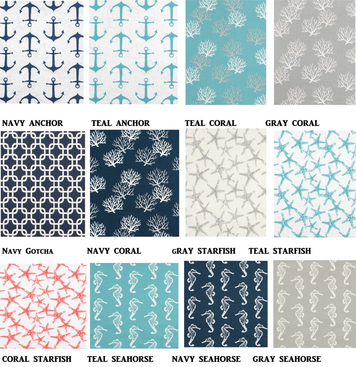 24x24 Or 26x26 Euro Sham You Choose Fabric New Nautical For Summer