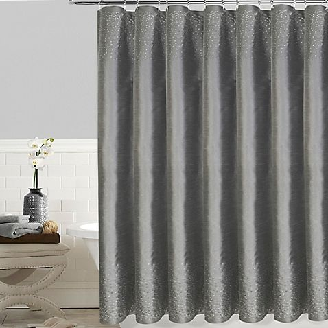 Twilight Shower Curtain White Shower Curtain