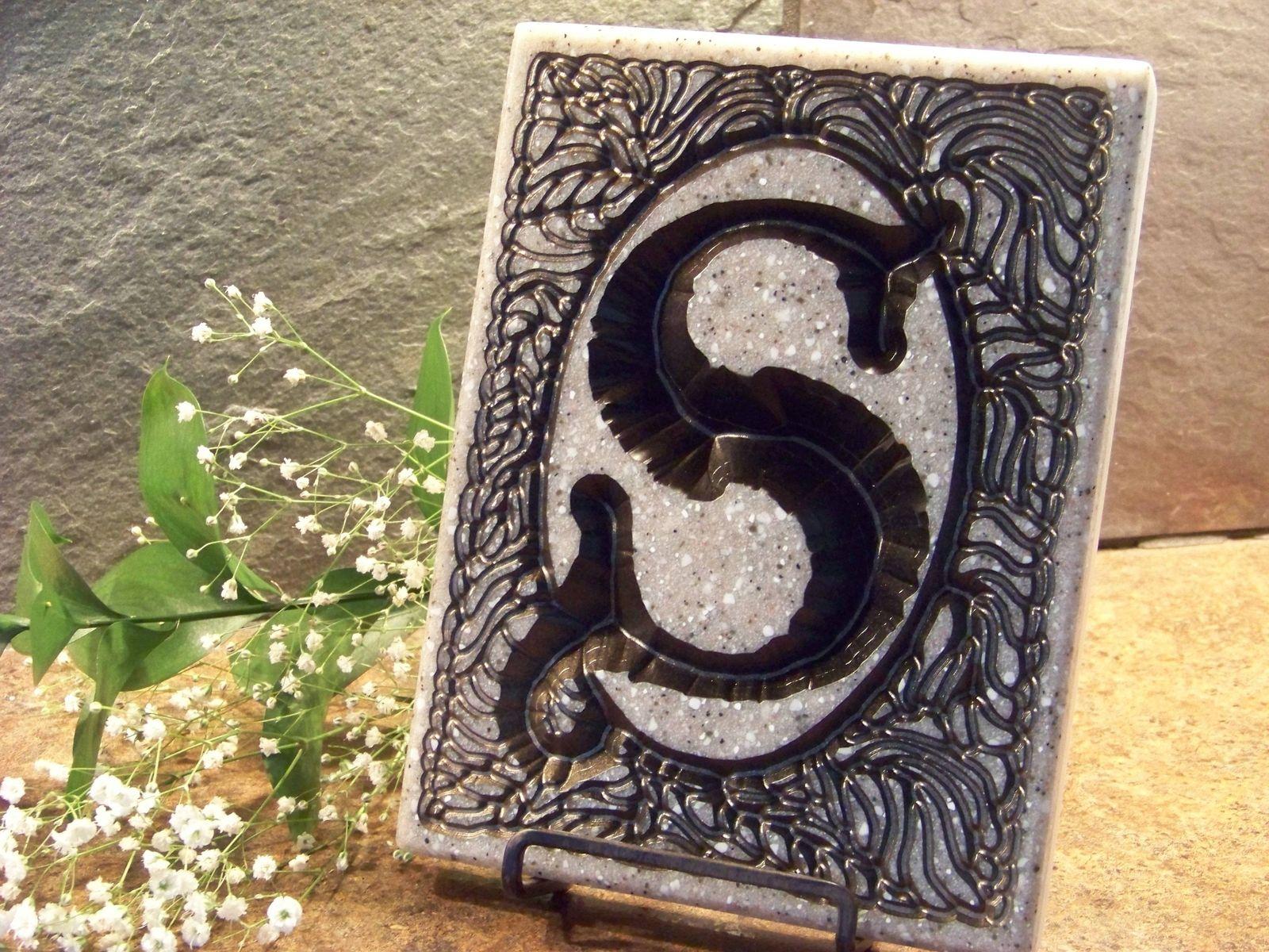 Letter S Personalized Interior Decor