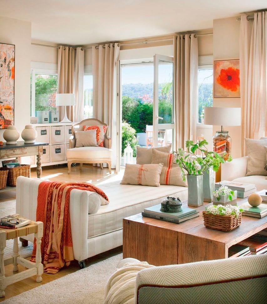 Pingl par scrap voyages nature sur inspiration for home en 2018 pinterest maison cosy - Conseils sur la disposition des meubles pour agrandir un salon ...
