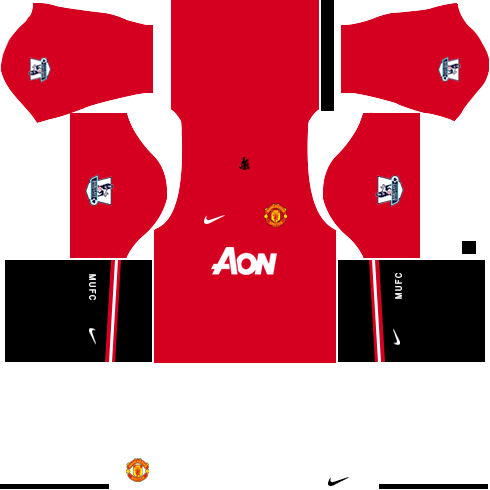 Manchester United Kit 512x512 Dream League Soccer Kits 2013 14 In 2020 Soccer Kits Manchester United Home Kit Manchester United