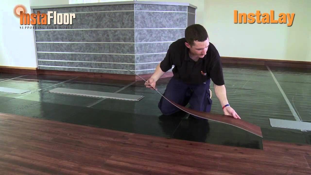 New Lvt Installation Using Instalay Self Adhesive Acoustic Underlay L Carpetsandmore Loose Lay Vinyl Flooring Loose Lay Vinyl Plank Flooring Flooring
