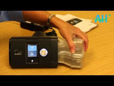 How To Use Your Resmed Airsense 10 Youtube Sleep Apnea Machine