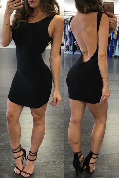 9ad953167d22 New Arrivals Sexy Club Dress 2016 Open Back Bandage Dress Evening Party  Short Dress Sleeveless Summer Sundresses