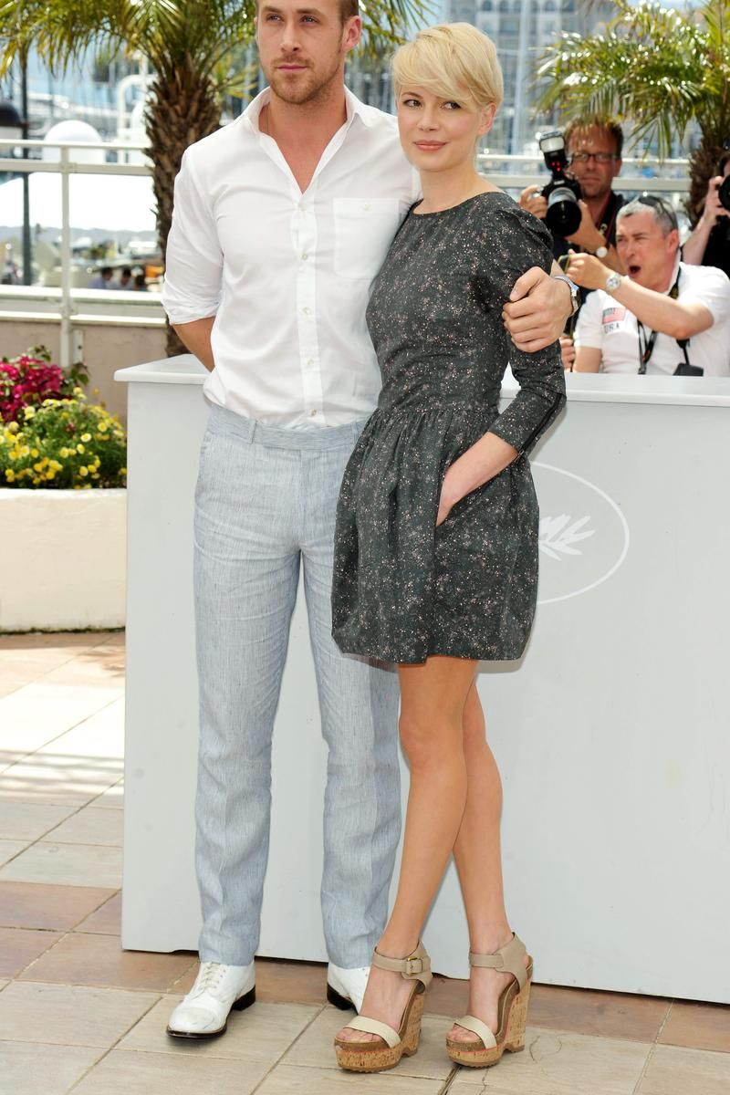 May 18, 2010 - The Cut  With Ryan Gosling at the Blue Valentine photo call during the Cannes Film Festival.