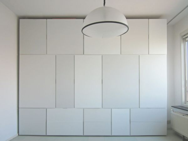 The Minimalist WITJES Wall Storage System Nice Design