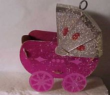 1950's Baby Buggy Ornament