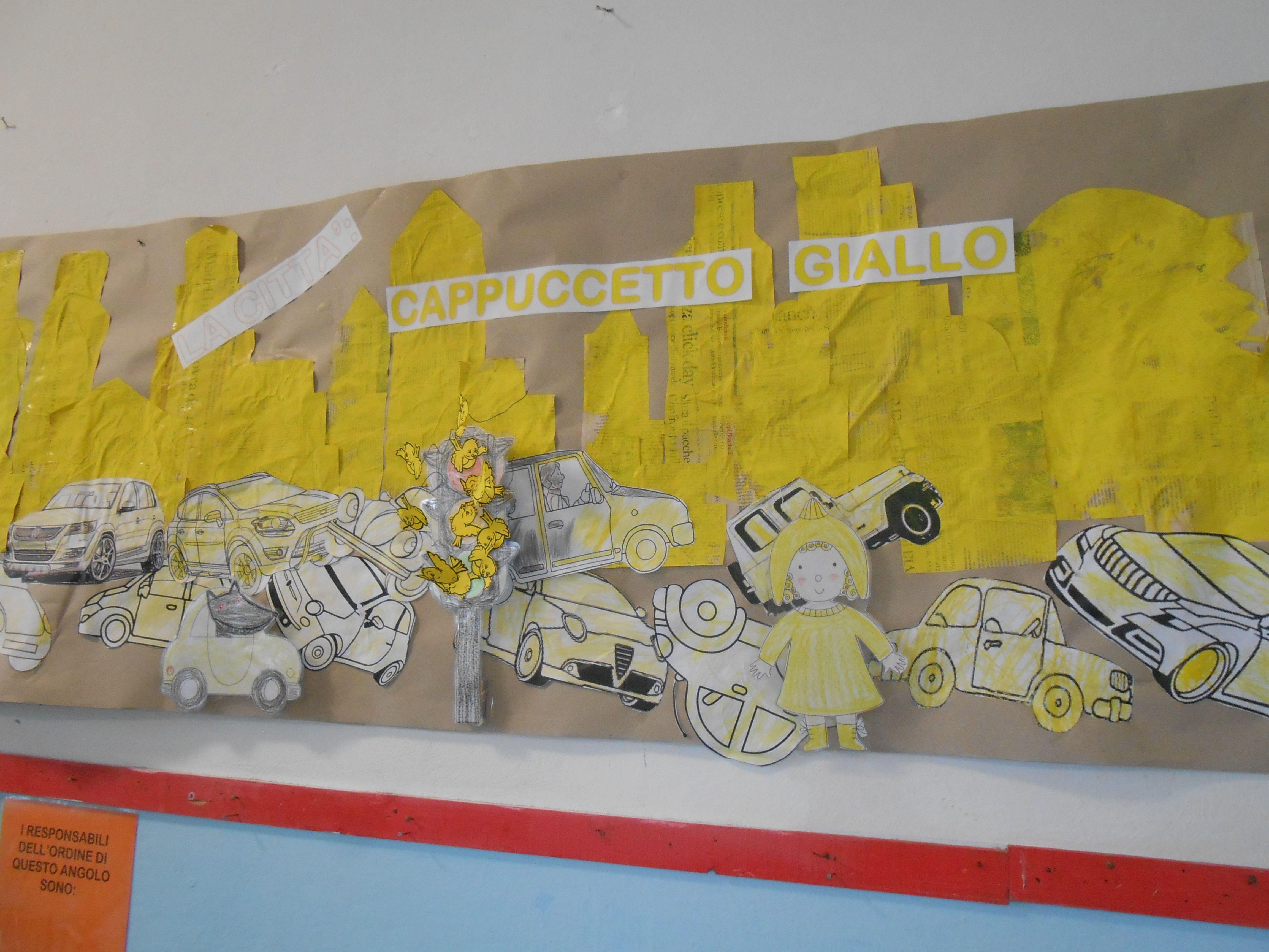 Attività Bambini ~ Cappuccetto giallo cartellone attività bambini scuola infanzia