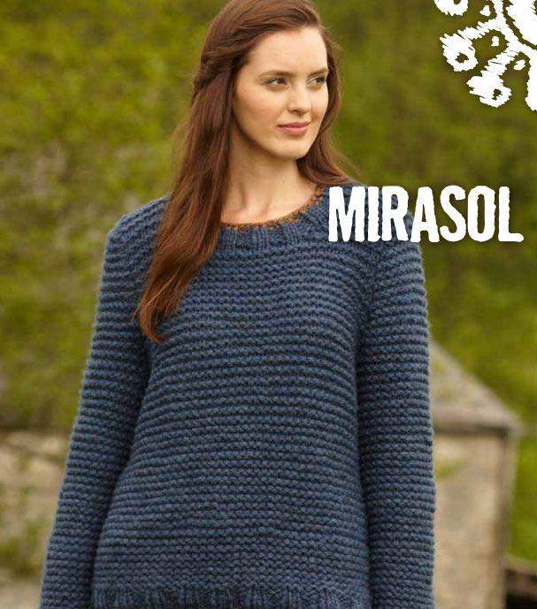 Chunky Easy Sweater Free Knitting Pattern | Knitting | Pinterest