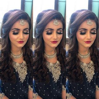 Beauty Pictures Party Wear And Dresses Engagement Hairstyles Front Hair Styles Bridal Hair Buns