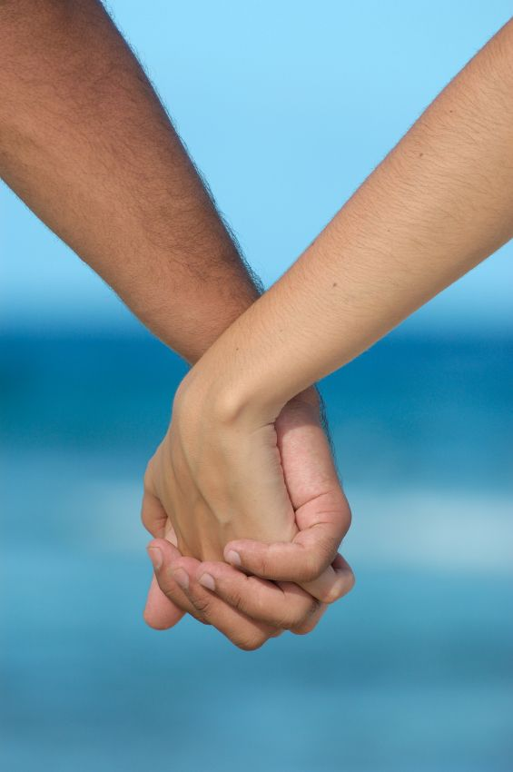 Image result for man and woman holding hands