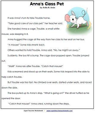 Reading Comprehension Worksheets 2nd Grade Reading Worksheets 2nd Grade Reading Comprehension Reading Comprehension Worksheets Second grade reading worksheet printable