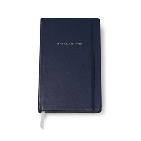 """kate spade new york - """"If I Do Say So Myself"""" Large Notebook"""