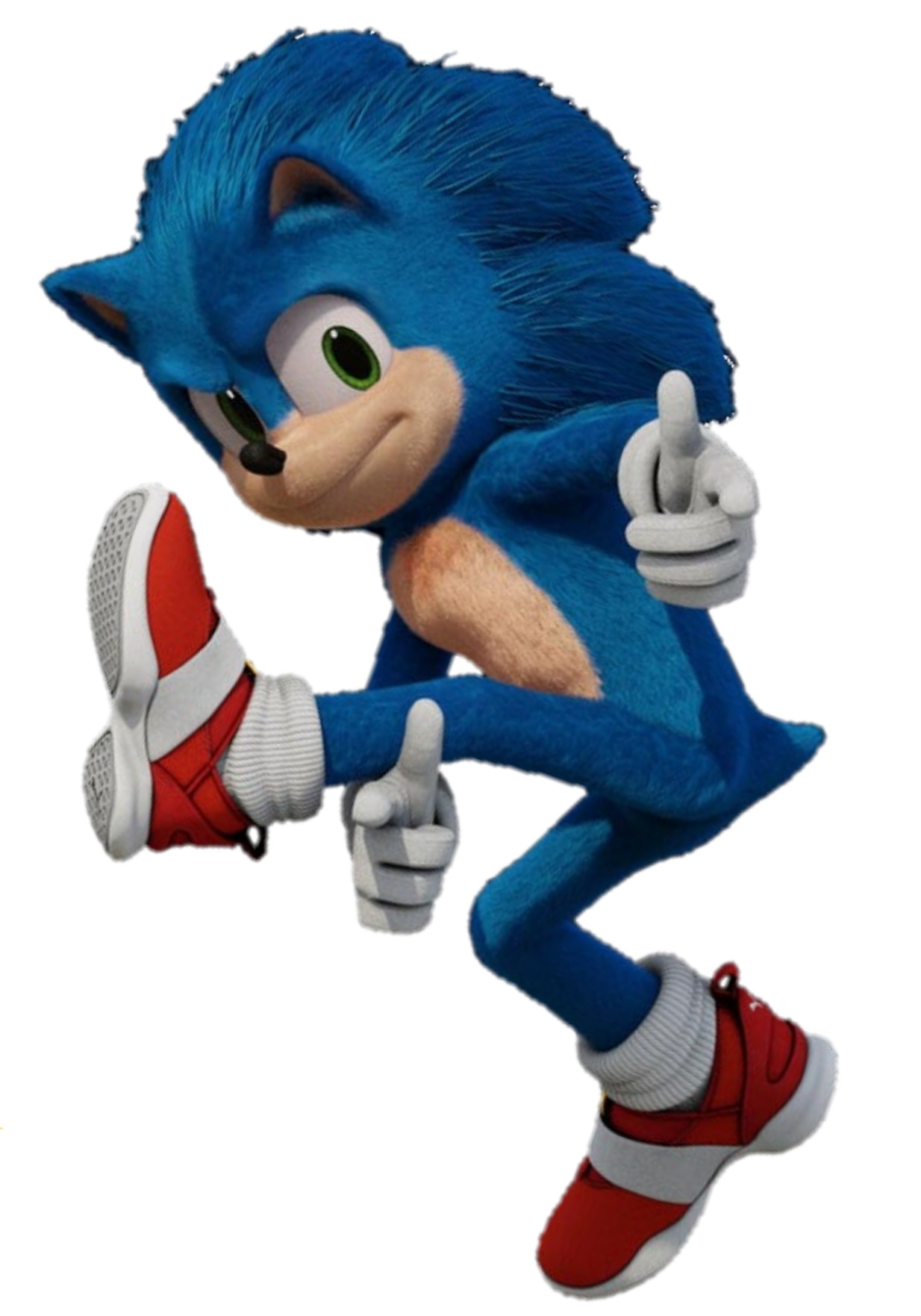 Sonic Pose Style Hedgehog Movie Sonic The Hedgehog Sonic