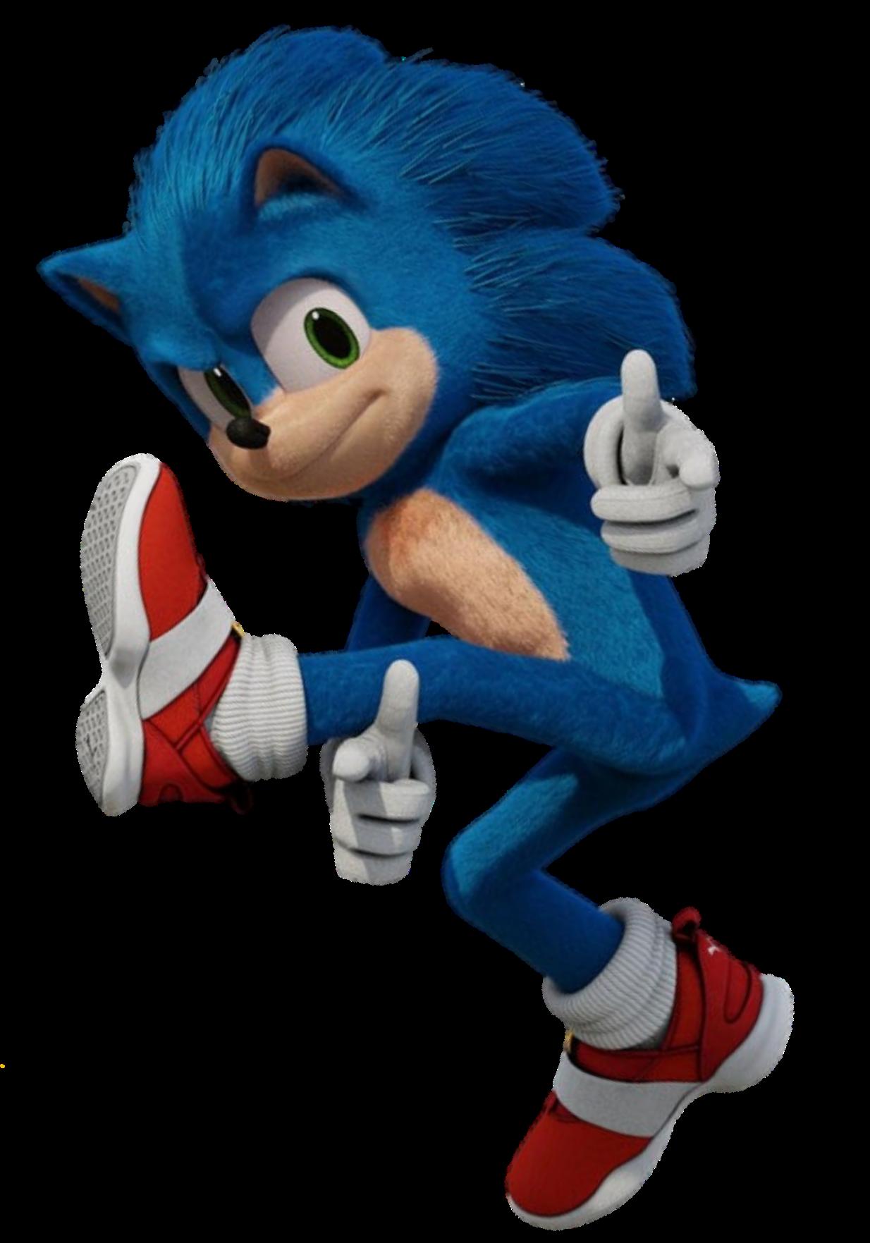 Sonic Pose Style Hedgehog Movie Sonic The Hedgehog Sonic