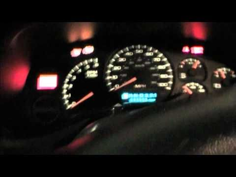How To Reset The Change Oil Light On A 1999 Gmc Sierra Chevy