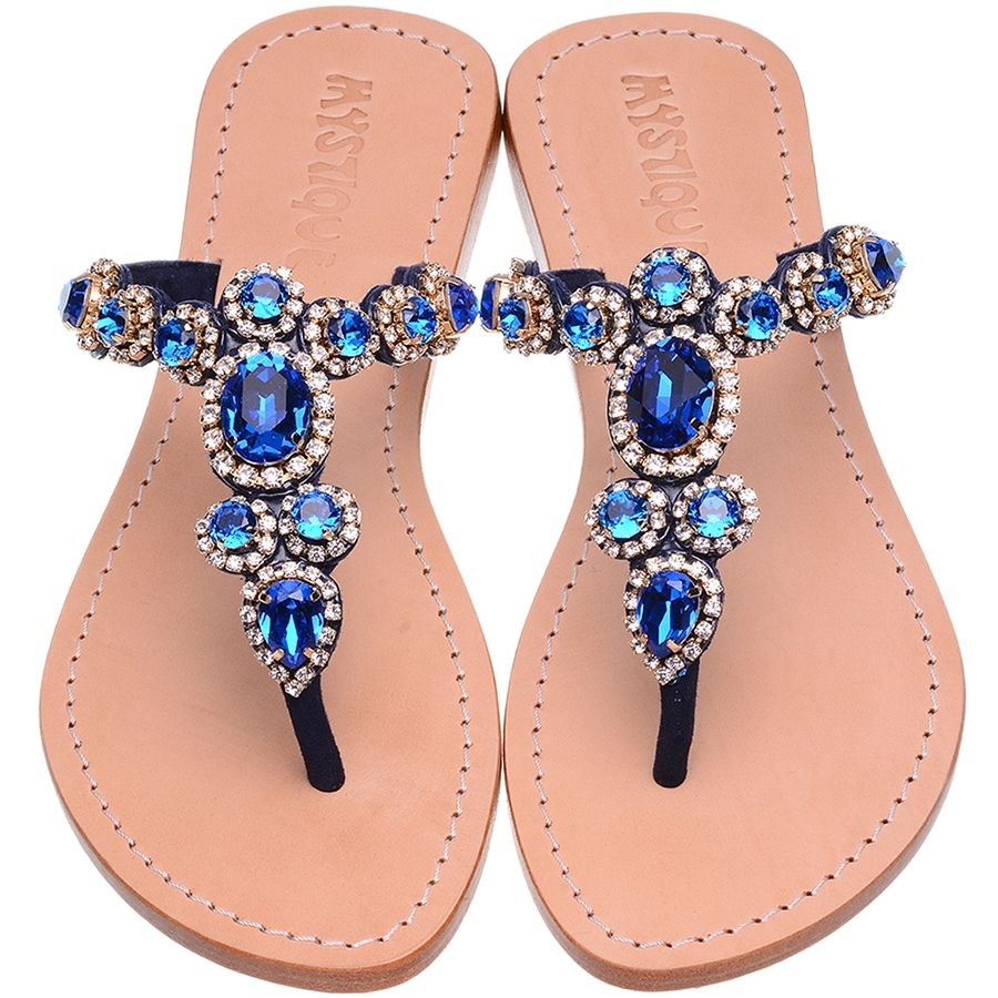 35110fc94 H-4791 Mermaid s Secret Jeweled Sandals