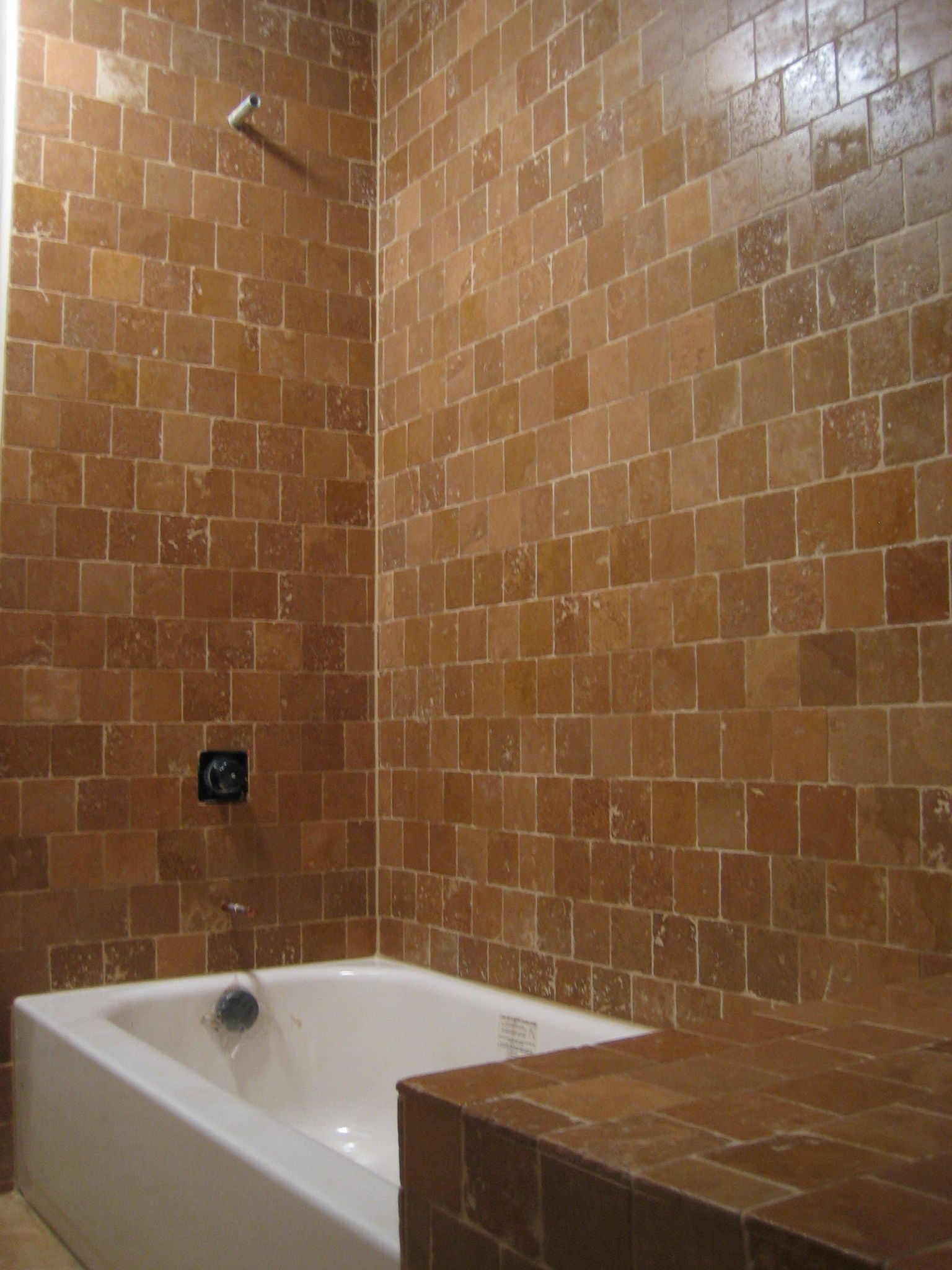 Tiled tub surround pictures bathtub surrounds ma bathtub tile surrounds bathrooms - Installing tile around bathtub ...