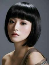 Sleek and Edgy Bob Haircut For Women #edgybob