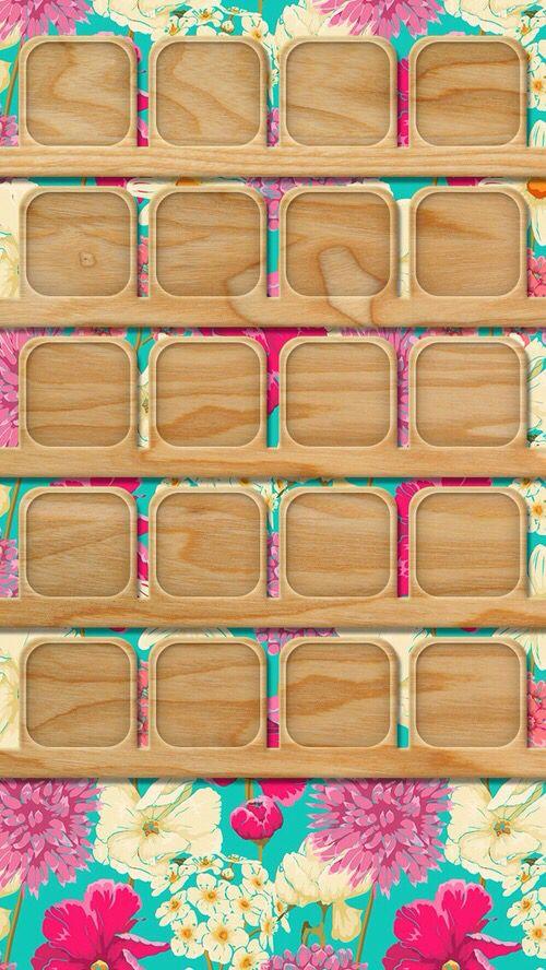 a155a53c923 Wallpaper iPhone 5S | Shelves/wallpaper iPhone | Fondos para iphone ...