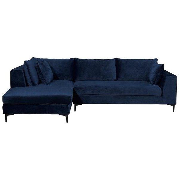 Best Scarlett 3 Seater Sofa Midnight Blue Velvet 1 509 Aud 400 x 300